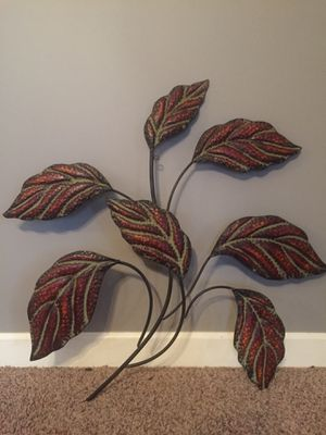 Metal Leaf Wall Decor for Sale in Smyrna, TN