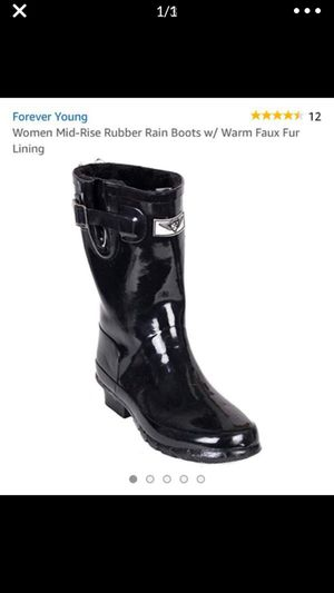 Women's rain boots size 11 for Sale in Westerville, OH
