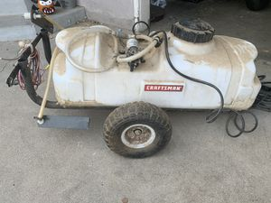 Craftmam tank sprayer with attachment. for Sale in Fresno, CA
