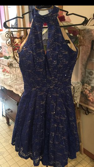 "Designer misses dress size small all lace sequin dress "" open key line ordering for yuk for Sale in Northfield, OH"