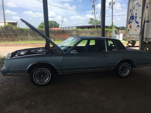 1986 Monte Carlo rebuild engine , front end new new exhaust, new brakes , new shocks and tires !! Real good project for someone who is interested .. for Sale in Haughton, LA