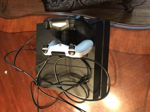 PS4 with games and accessories for Sale in Elmhurst, IL