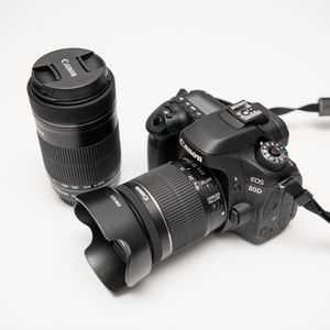 Canon 80D With 2 Lenses for Sale in Garland, TX