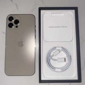 iPhone 12 Pro Max 256GB Gold From AT&T for Sale in Hialeah, FL