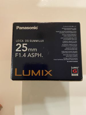 LUMIX lens for Sale in San Jose, CA