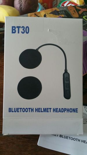 NEW BLUETOOTH HELEMET HEADPHONES for Sale in San Antonio, TX