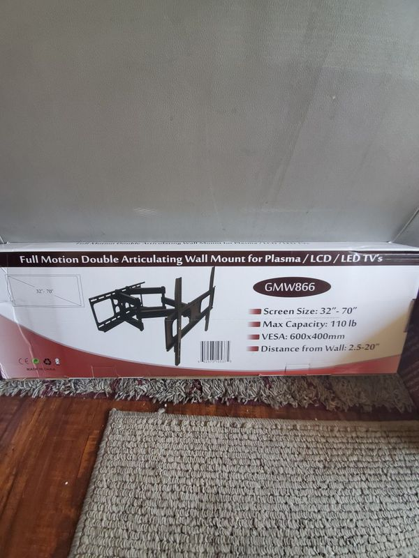 "Wall mount 32""-70"" full motion brand new"