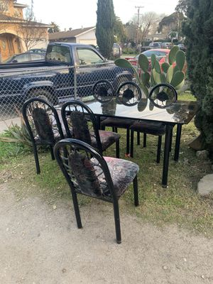 6 chairs Dining table for Sale in Mountain View, CA
