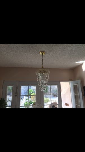 Beautiful crystal chandelier for Sale in West Hollywood, CA