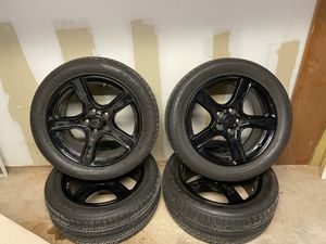 Four 2016-2018 Chevrolet Camaro 18″ OEM Rims and Tires for Sale in Manchester, CT