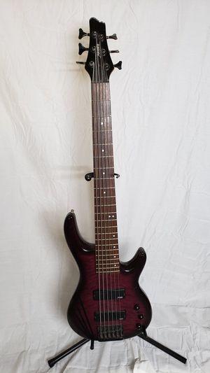 AlvarezAEB6P Electric 6 string Bass GuitarTrans Purple for Sale in Aurora, CO