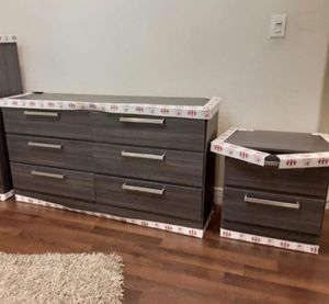 NEW DRESSER AND 1 NIGHTSTAND. DELIVERY for Sale in Hollywood, FL