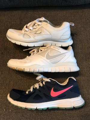 Kids Sneakers size 5-5.5y excellent condition all 3 pairs for 40 dollars for Sale in Plantation, FL
