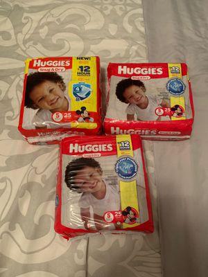 Huggies size 5 for Sale in La Vergne, TN