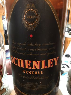 Schenley Distillery antique promotional bottle check out the pictures for Sale in Bellflower, CA