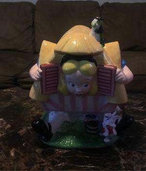 ALICE IN WONDERLAND COOKIE JAR(80s) for Sale in Cypress, CA