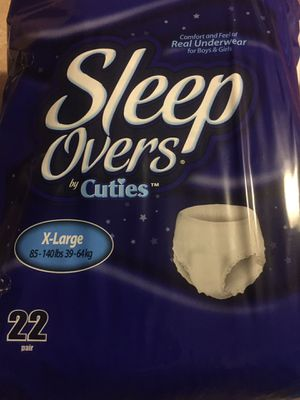 FREE!!!Sleep Over Pull-Ups! for Sale in Stony Creek, VA