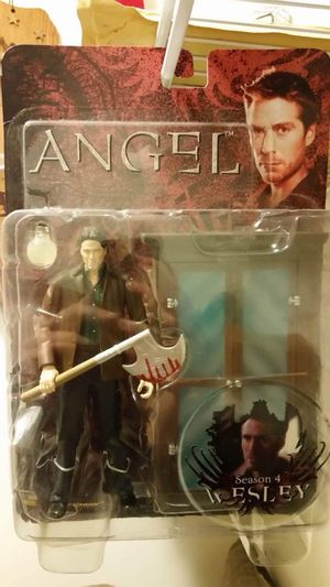 Joss Whedon's Angel TV Series Wesley Action Figure MIB for Sale in Caseyville, IL