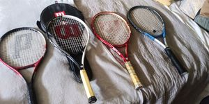 8 Tennis Rackets $60 for Sale in Los Angeles, CA