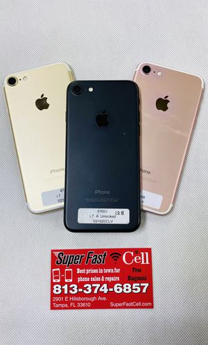 iPhone 7 unlocked for Sale in Tampa, FL