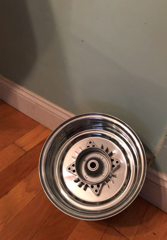 DWT 10x5 mini fatty wheel and kymco machined hub for GET Honda ruckus for  Sale in Winter Park, FL - OfferUp