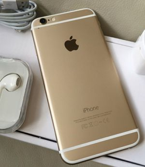 iPhone 6 plus (6+) - excellent condition, factory unlocked, clean IMEI for Sale in Springfield, VA