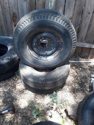 3- Trailer Tires 7.00 15LT for Sale in Rancho Cordova, CA