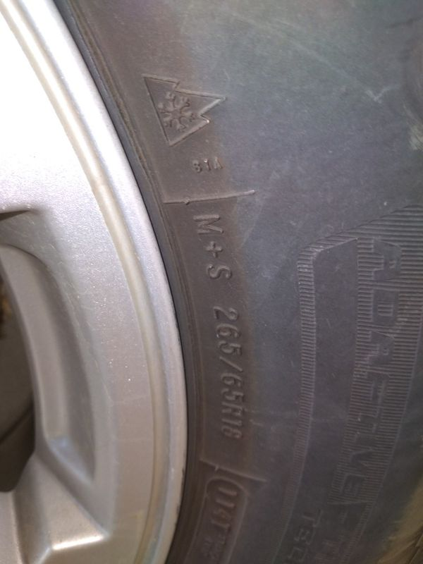 18 inch jeep wheels tires like new