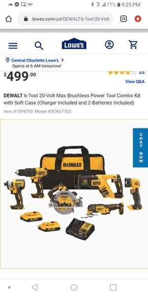 DeWalt 6 piece tool set Brand New for Sale in Columbia, SC