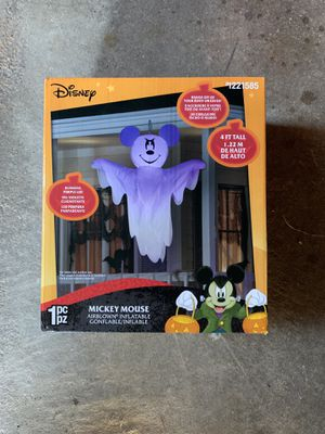 Disney Mickey Mouse Halloween Inflatable Ghost for Sale in Framingham, MA