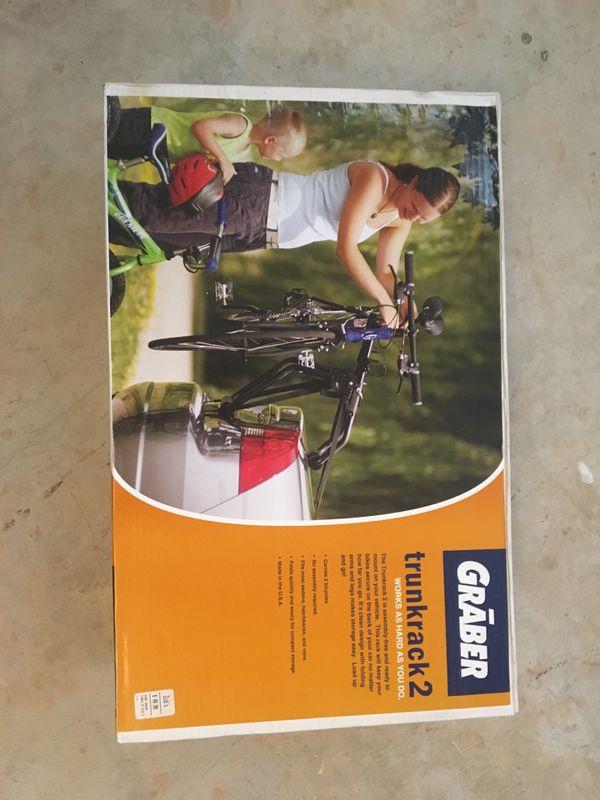 Brand new bike rack for 2 🚲 🚲
