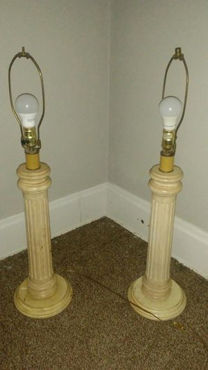 Wooden lamps for Sale in Columbus, OH