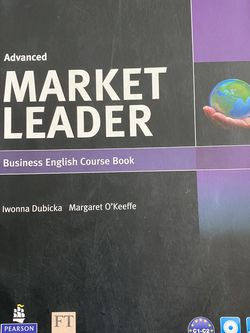 Market Leader Advanced Coursebook With DVD ROM Pack3rd Ed. for Sale in Los Angeles,  CA