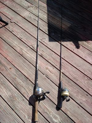 2 fishing poles for Sale in Columbus, OH