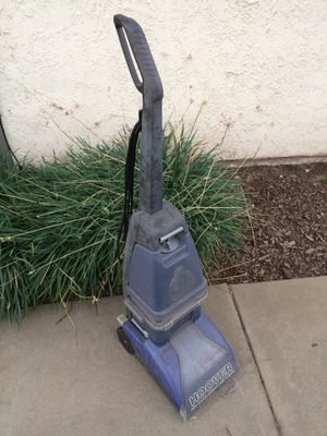 Hoover Carpet Cleaner Vacuum.. exterior discoloration, but works indeed for Sale in Upland, CA