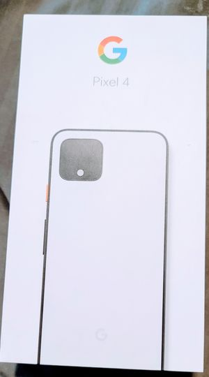 NIB Google Pixel 4 - 64GB - Clearly White for Sale in Arvada, CO
