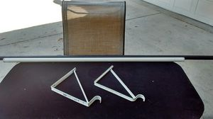 Closet pole n closet bracket for Sale in El Monte, CA