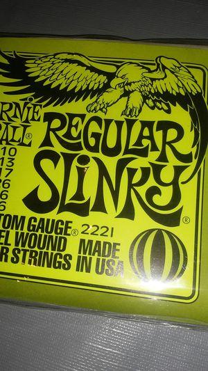 Ernie Ball Regular Slinky Electric Guitar Strings for Sale in El Monte, CA