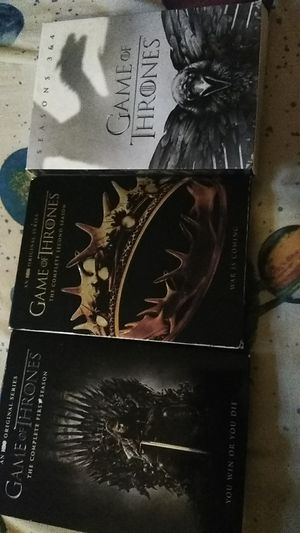 Game of Thrones - Seasons 1-4 for Sale in Waynesville, MO