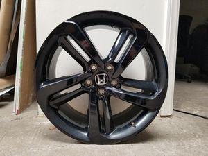 Wheel Rim Vinyl Overlay Kit for 2018 2019 Honda Accord Sport - ALL COLORS AVAILABLE - Gloss Matte Carbon Fiber Black for Sale in Gardena, CA