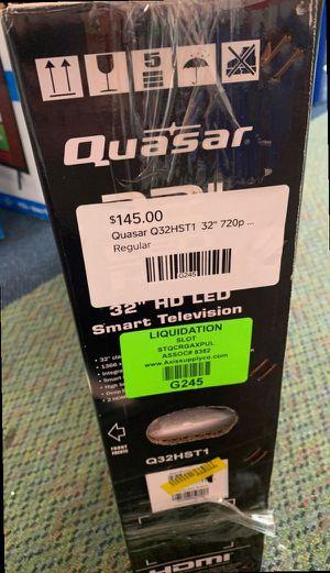 "Brand New 32"" Quasar TV Open box w/ Warranty DIP for Sale in Mesquite, TX"