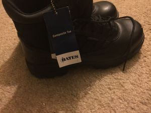 Size 9 all black work boots composite toe brand new for Sale in Morrisville, PA