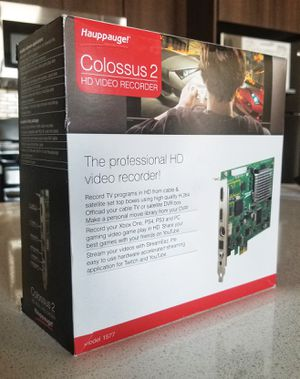 Hauppauge Colossus 2 HD Video Recorder for Sale in Las Vegas, NV