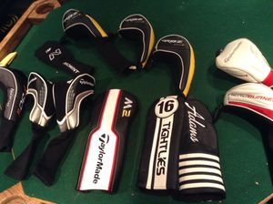 BRAND NEW LOT OF GOLF CLUB COVERS $300 Value ASKING $120 MAKE OFFER NEGOTIABLE for Sale in Oak Forest, IL
