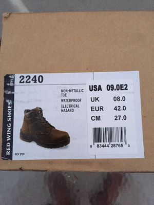 Red Wing Shoes - Work Boots Size 9 *NEW for Sale in Long Beach, CA