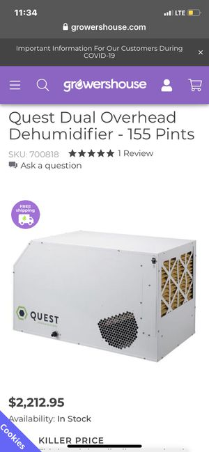 Dehumidifier for Sale in Jamul, CA