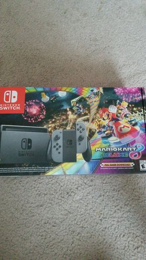 Nintendo Switch MarioKart 8 - New for Sale in Duvall, WA