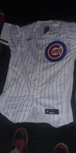 CUBS OFFICIAL NIKE JERSEY (BAEZ) SIZE 44 AND 48 for Sale in Chicago, IL