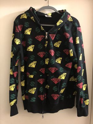 Billionaire Boys Club (Bape) OG 'Diamonds and Dollars' Hoodie - Size L for Sale in Bethesda, MD