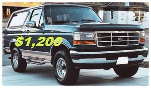 🎁1996 FORD BRONCO🎁($12OO)🎁Eddie Bauer 4x4🎁 for Sale in Fort Wayne, IN